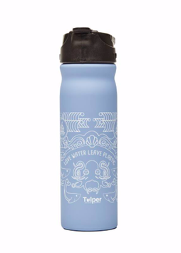 Retulp Dutchie 500 ml (stalen drinkfles met handige drinktuit) - Blauw