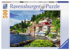 Puzzel Lake Como Italie: 500 stukjes