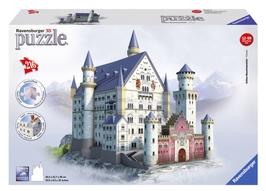 Puzzel Neuschwanstein 3d: 216 stukjes