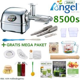 ANGEL JUICER 8500 MIT MEGA PAKET