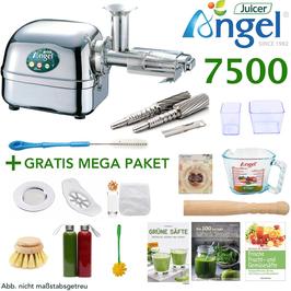 ANGEL JUICER 7500 MIT MEGA PAKET