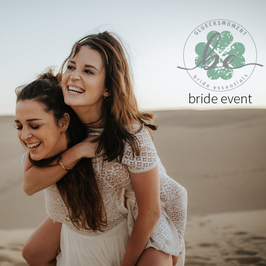 Bride Event Nr . 3 mit bride essentials und gluecksmoment