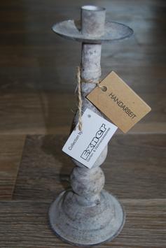 Kerzenleuchter Kerzenhalter Ständer Metall Vintage Handarbeit Exner