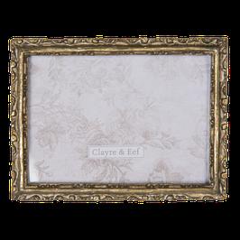 Bilderrahmen Fotorahmen 2F0682 Gold Silber Shabby Polyresin / Glas 15 x 2 x20 cm / 13 x 18 cm Clayre & Eef
