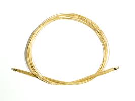 Collier 30 Stränge 750 Gelbgold