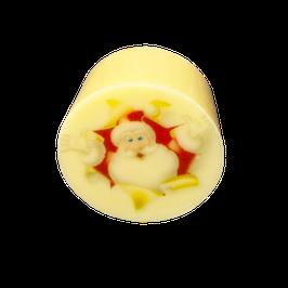Vanille Töpfchen mit Weihnachtsmann