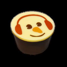 Toffee Töpfchen mit Schneemann
