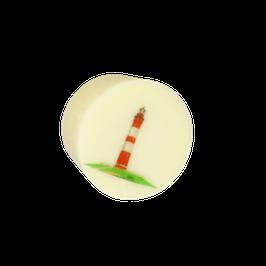 Vanille Töpfchen mit Leuchtturm