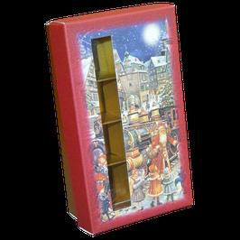 """Geschenkpackung """"Weihnachtsexpress"""" für 8 Pralinen"""