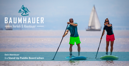 Gutschein STAND UP PADDLE BOARD