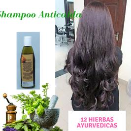 SHAMPOO ANTICAIDA 12 HIERBAS - Nuevo Cabello en 1 mes