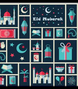 Cadeaupapier Eid Mubarak