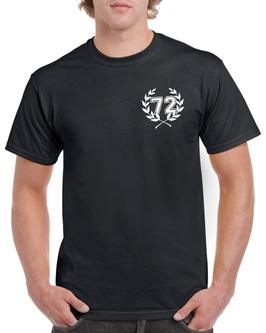 """T-Shirt """"72"""" Schwarz"""