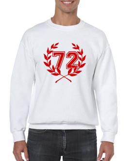 """Ultras München Pullover """"72"""" Weiß"""