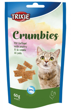 TRIXIE Crumbies, mit Geflügel, 60 g (100g / 1,65€)