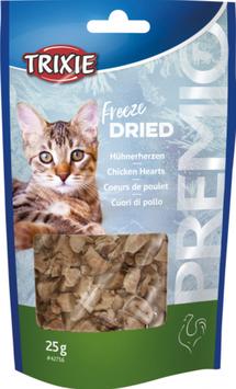 TRIXIE PREMIO Freeze Dried Hühnerherzen, 25g (100g / 7,96€)