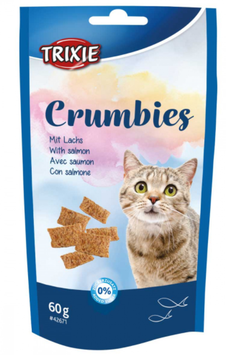 TRIXIE Crumbies, mit Lachs, 60 g (100g / 1,65€)