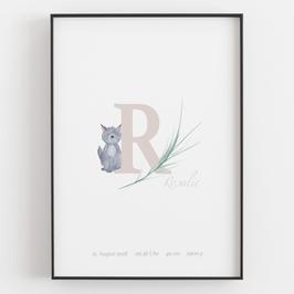 "Personal ABC Print ""R"""