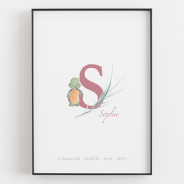 "Personal ABC Print ""S"""