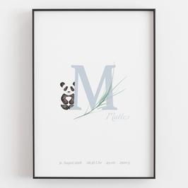 "Personal ABC Print ""M"""