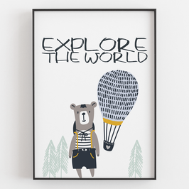"""EXPLORE THE WORLD"""