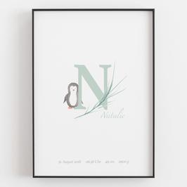"Personal ABC Print ""N"""