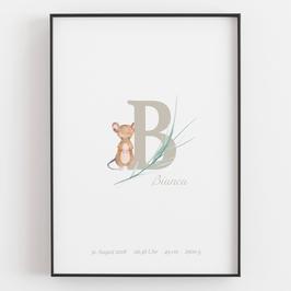 "Personal ABC Print ""B"""