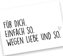 """""""FÜR DICH"""""""
