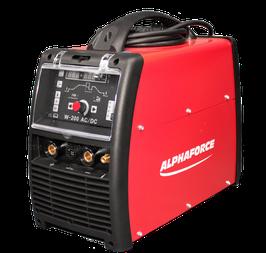 Alphaforce WIG Schweißgerät 200 AC/DC im Set