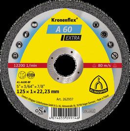 A 60 Extra Kronenflex® Trennscheiben 115-125x1,0 mm für Edelstahl, Metall Universal