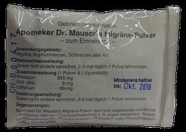 Migränepulver nach Apotheker Dr. Mauser 10x1g