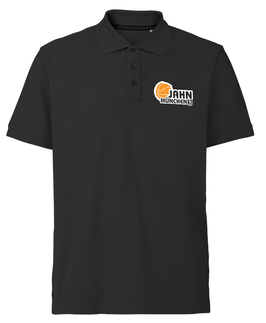 Polo-Shirt schwarz mit TS Jahn Logo (optional mit Name)