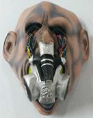 kontaminierter Maske