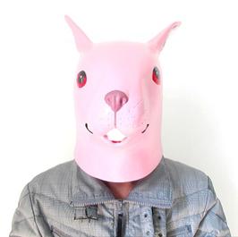 pinker Hase