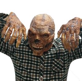 Totenkopf mit passenden Händen