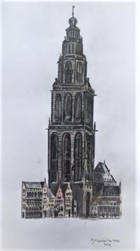Groningen: De Martinitoren.