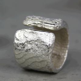 Ossa Sepia Silber-Ring