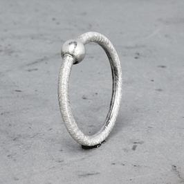 Silber-Ring mit Kugel
