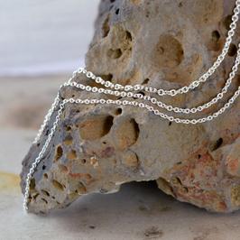 Halskette, Silber