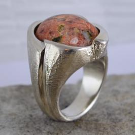 Silber-Ring mit Reuss-Stein