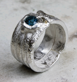 Rustico: Silber- Ring