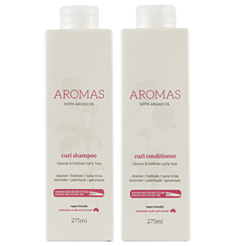 Curl Shampoo & Conditioner with Argan Oil