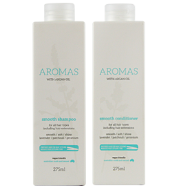 Smooth Shampoo & Conditioner with Argan Oil