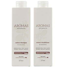Colour Shampoo & Conditioner with Argan Oil