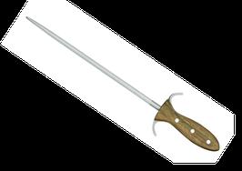 Güde Wetzstahl D'Artagnan / Sharpening Steel D'Artagnan Alpha Fasseiche E006/32