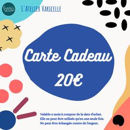 Carte Cadeau  -20€-