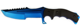 CS GO Blue Steel Huntsman Messer Jagdmesser