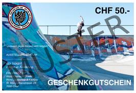 GESCHENKGUTSCHEIN CHF 50.-