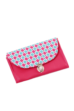 Porte monnaie rose pop
