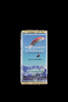 BIO Milchschokolade mit Honig - handgemacht vom Chocolatier